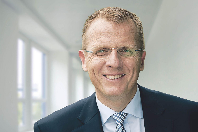 Dirk Greshake, Geschäftsführer von AstraZeneca Deutschland